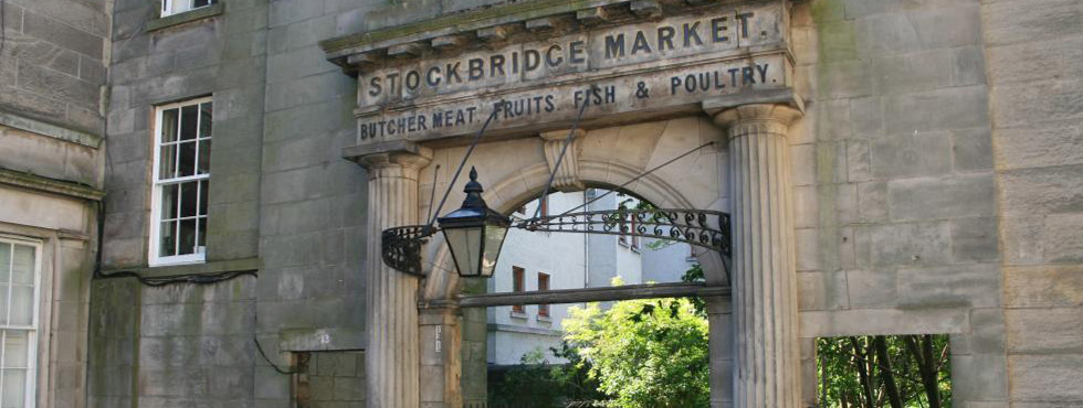 Stockbridge market entrance